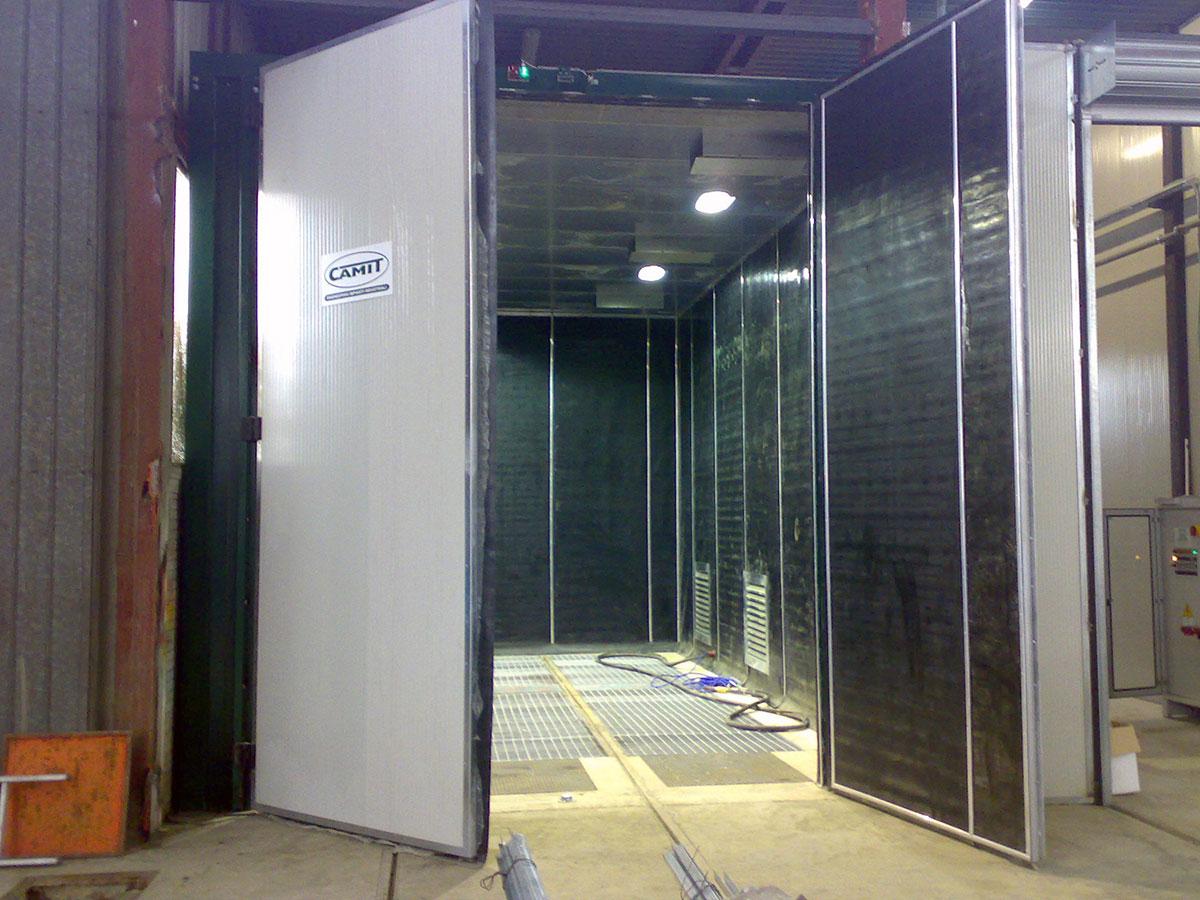 Cabine di sabbiatura camit impianti di sabbiatura e for Manuale per la pulizia della cabina dell aeromobile