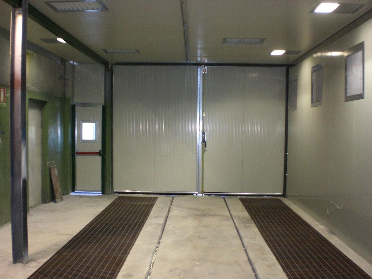 Camit impianti di verniciatura con aspirazione e filtrazione da pavimento