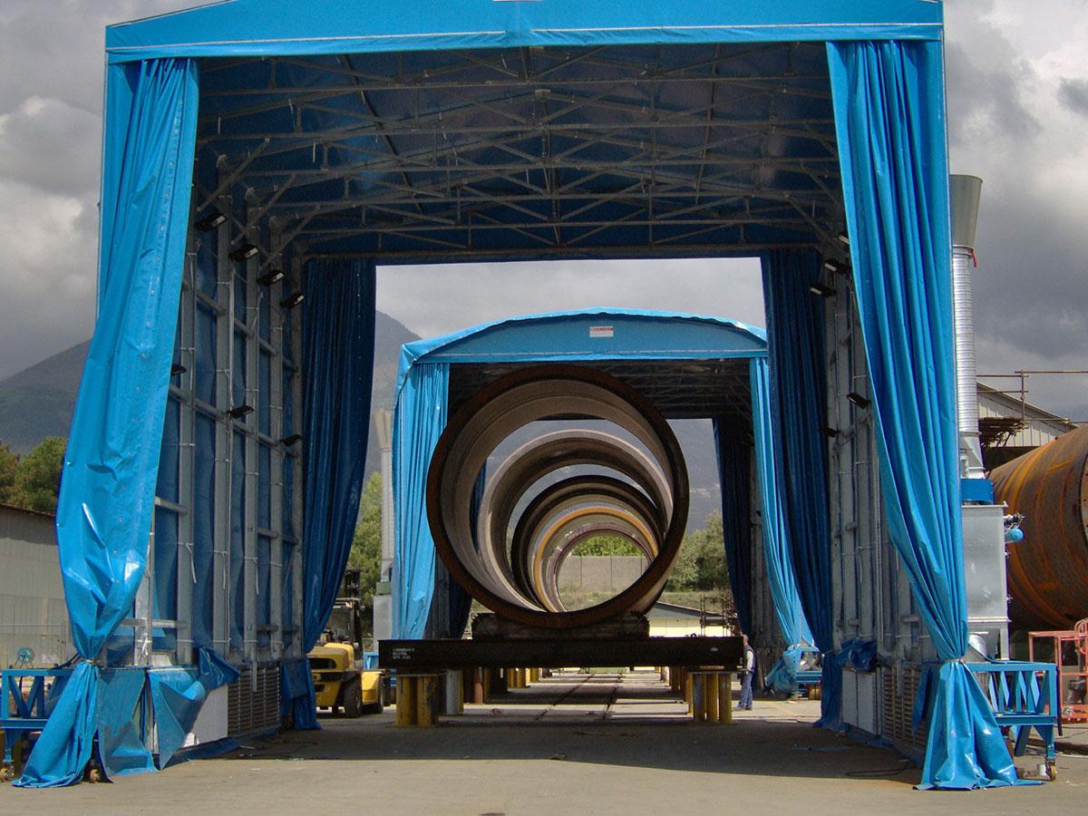Tunnel mobili Camit