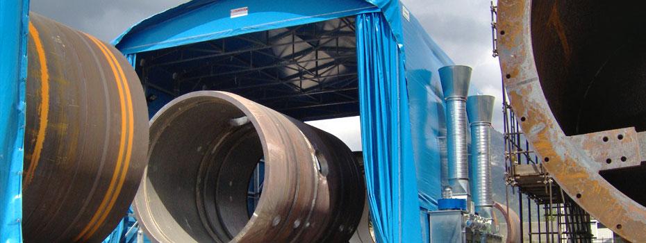 Camit impianti di sabbiatura e verniciatura for Usmc cabine di grandi dimensioni